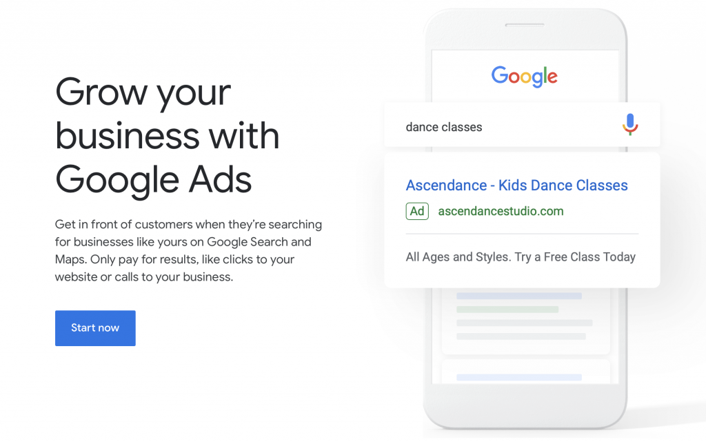 google ads getting started