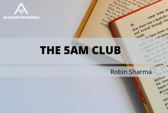 the 5am club by robin sharma - ebook