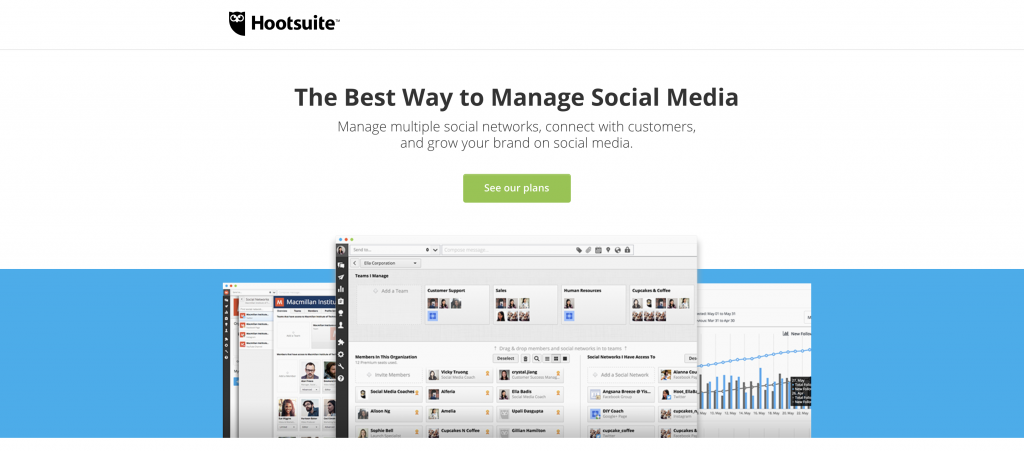 Another great tool for your social media account: Hootsuite