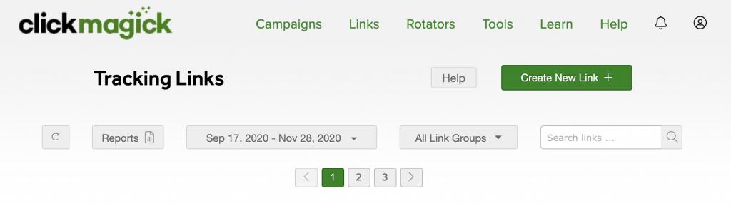 clickmagick tracking links