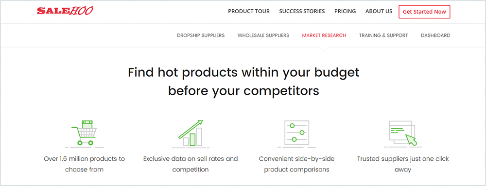 find hot products within your budget before your competitors