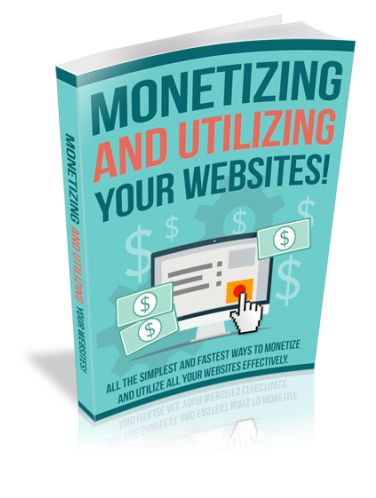 Online Course - Ebook - Monetizing and Utilizing Your Websites